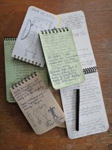 Rite in the Rain notebooks- photo by Gerald Trainor.