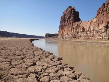 Colorado River at Hite Marina. Photo by Gerald Trainor.