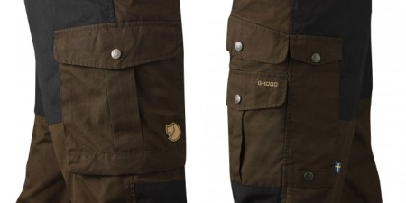 Barents Pro trousers pocket configuration.