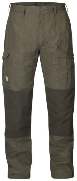 The Fjallraven Barents pro trouser in dark olive
