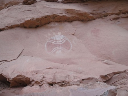 Baseball Man panel, Utah. Photo by Gerald Trainor