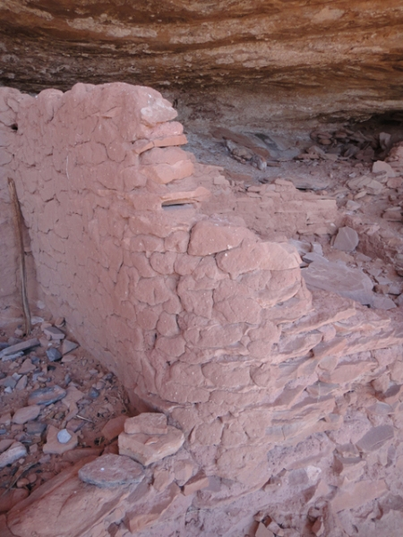 Ancestral Puebloan dwelling in Comb Ridge, Utah. Photo by Gerald Trainor.
