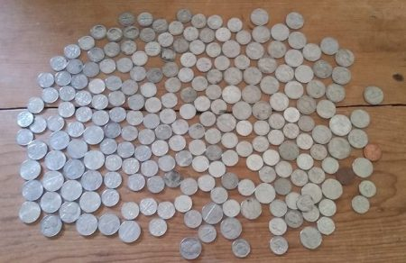 Urban tracking exercise- coffee money for the week.